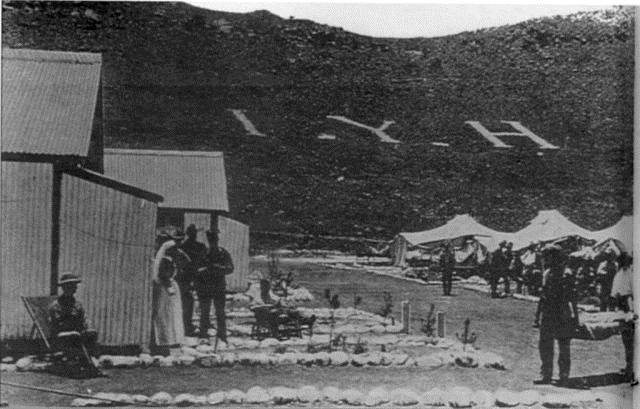 Field Hospital at Deelfontein in the Northern Cape.