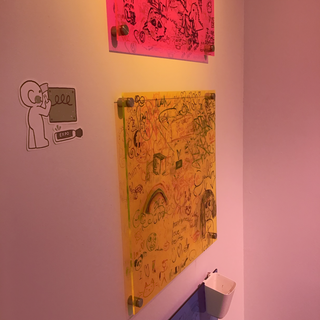 Artwork in a Gallery