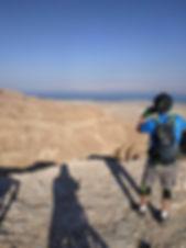 תצפית מרהיבה לקניון צאלים וים המלח - נקו