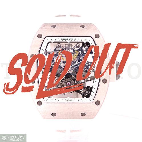 リシャールミル RICHARDMILLE RM38-01 バッバ・ワトソン トゥールビヨン Gセンサー 世界限定50本 メンズ