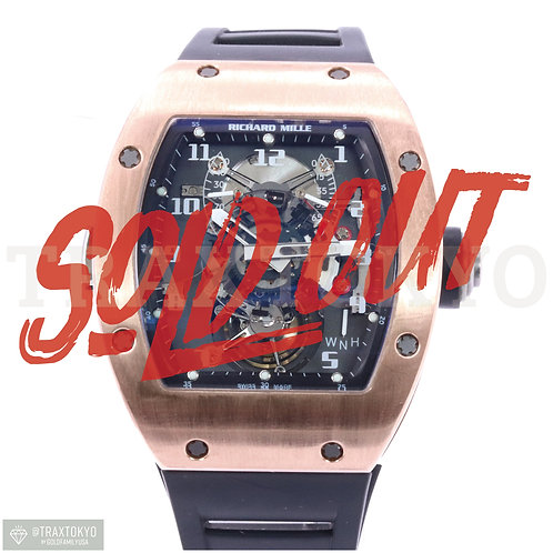 リシャールミル RICHARD MILLE トゥールビヨン RM003 AC PG 18Kピンクゴールド 手巻き メンズズ