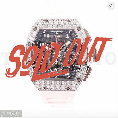 リシャール ミル RICHARDMILLE RM011 オートマティック フライバック クロノグラフ フェリペマッサ ダイヤモンドベゼル