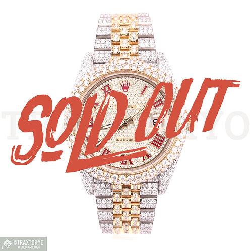 ロレックス ROLEX デイトジャスト41 126333 ランダム番 イエローゴールド ダイヤモンド 自動巻き メンズ
