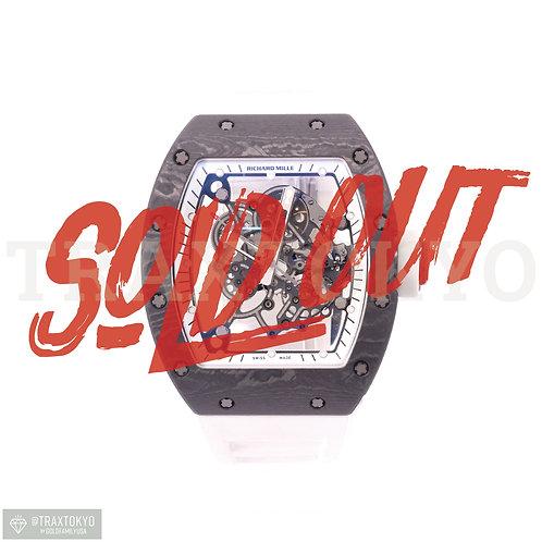 リシャールミル RICHARD MILLE RM055 バッバ・ワトソン ホワイトレジェンド アメリカ限定88本 メンズ