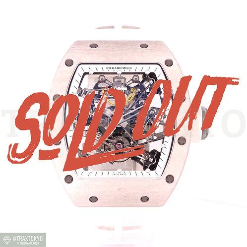 リシャールミル RICHARDMILLE RM38-01 バッバ・ワトソン トゥールビヨン Gセンサー 世界限定1本 メンズ