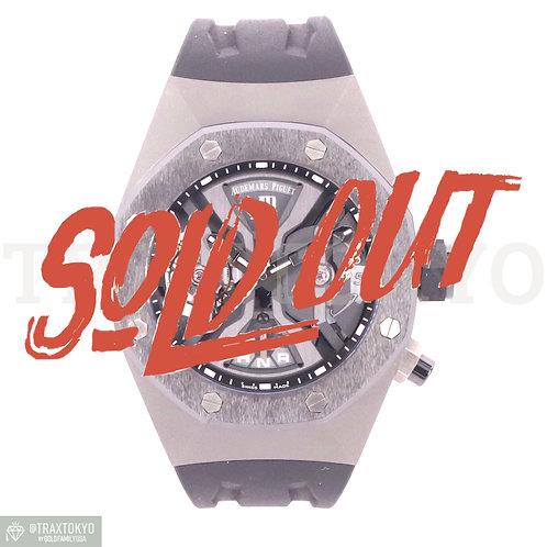 オーデマピゲ AUDEMARSPIGUET ロイヤルオーク コンセプト GMT トゥールビヨン 26560IO.OO.D002CA.01 チタン メンズ