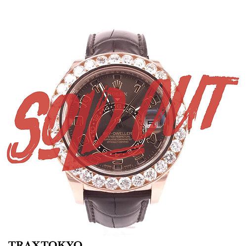 ロレックス ROLEX スカイドゥエラー 326135 ピンクゴールド ベゼルダイヤモンド