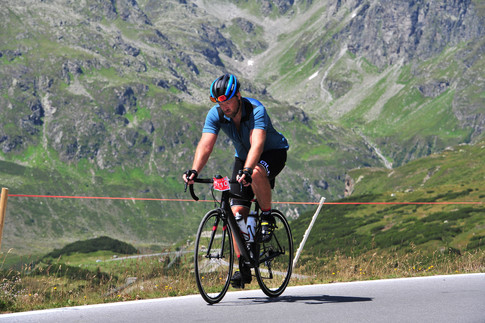 Like a fish out of water – riding the Arlberg Giro