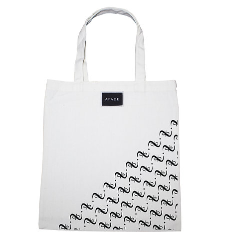 WHITE TOTE BAG STYLE 2