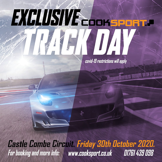Car Track Day - Castle Combe, Friday 30th October 2020