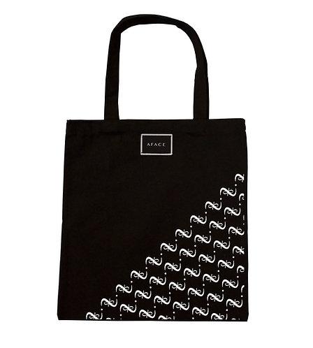 BLACK TOTE BAG STYLE 2