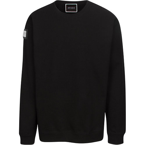 BLACK CUSTOM SWEATSHIRT