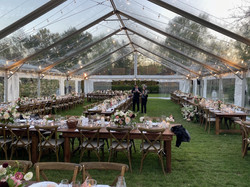 Perfect for Weddings, Events, Parties, Clear Top, Clearspan Structure