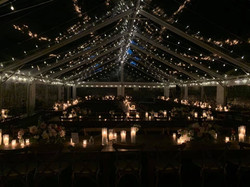European Outdoor lighting Patio for wedding, graduation, religious event, festival,