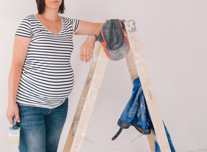 Dangers of renovating or building while pregnant and around children