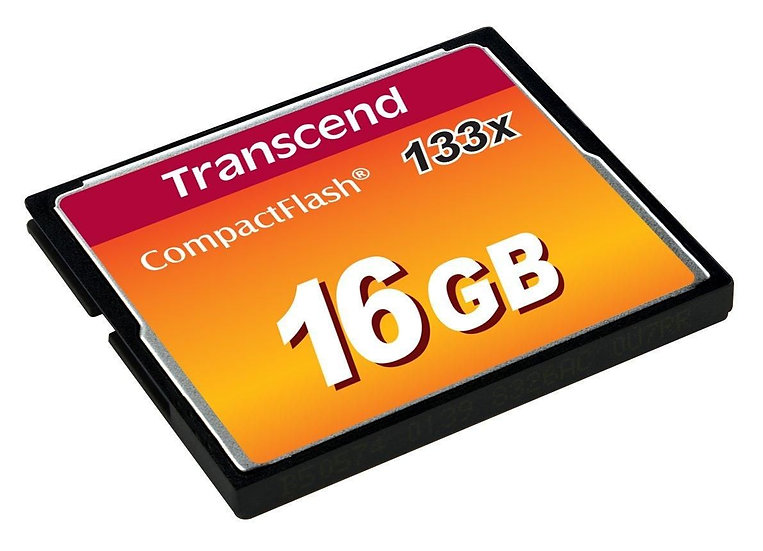 Transcend TS16GCF133 16GB CF Card (133X)