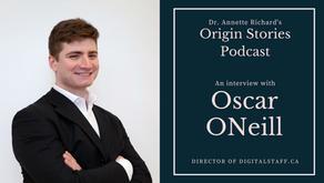 Oscar ONeill on Dr. Annette Richard's Origin Stories