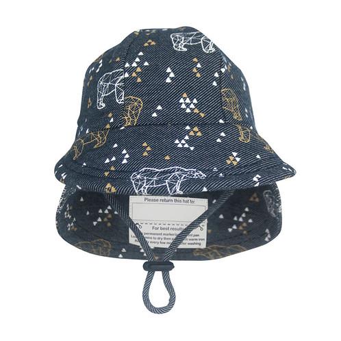 Bedhead Hats - Baby Legionnaire 'Bear' Print