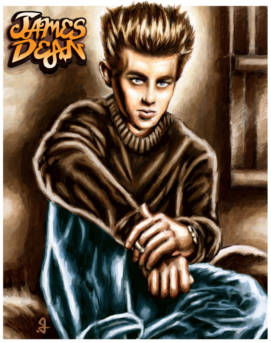 Returning To The Cinematic: PHASE 1- Portrait Of A Rebel: JAMES DEAN