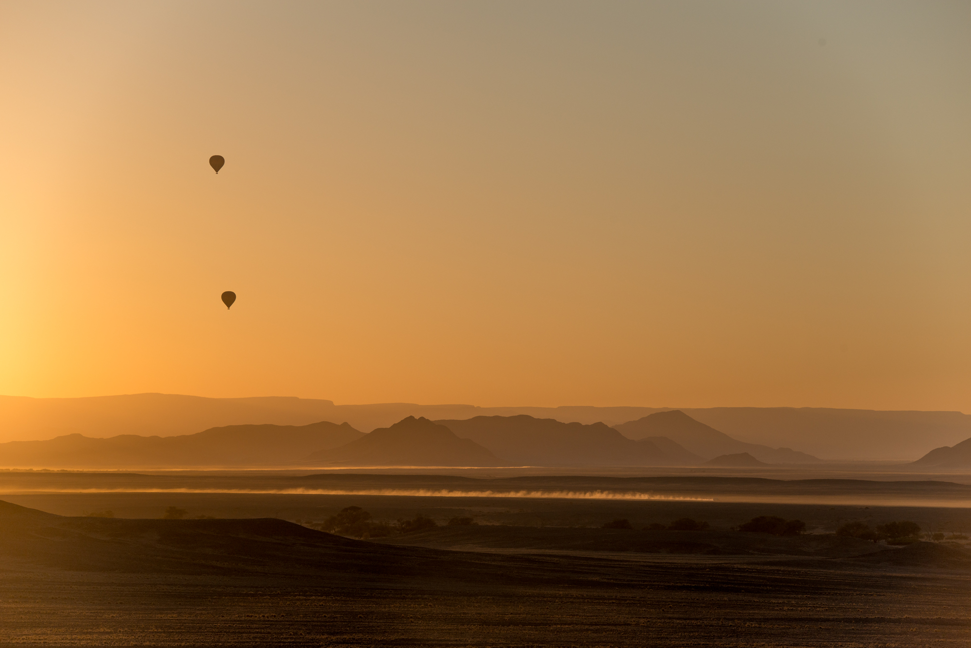 Namib-Naukluft Park Hot Air Ballons