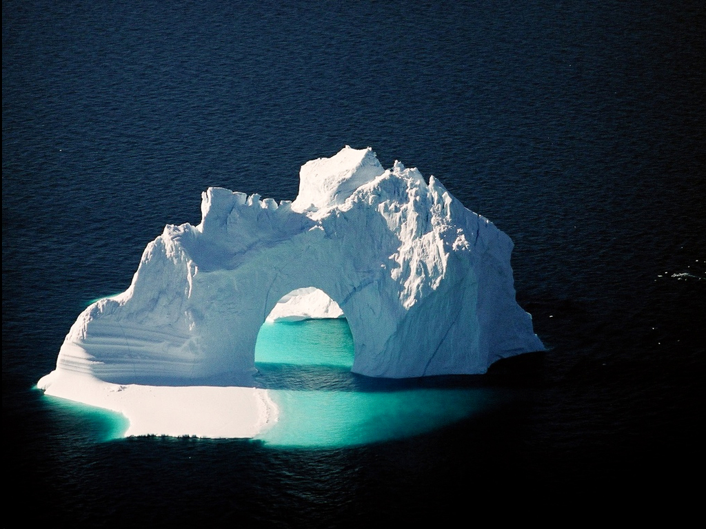 Icebergs in the Melville Bugt