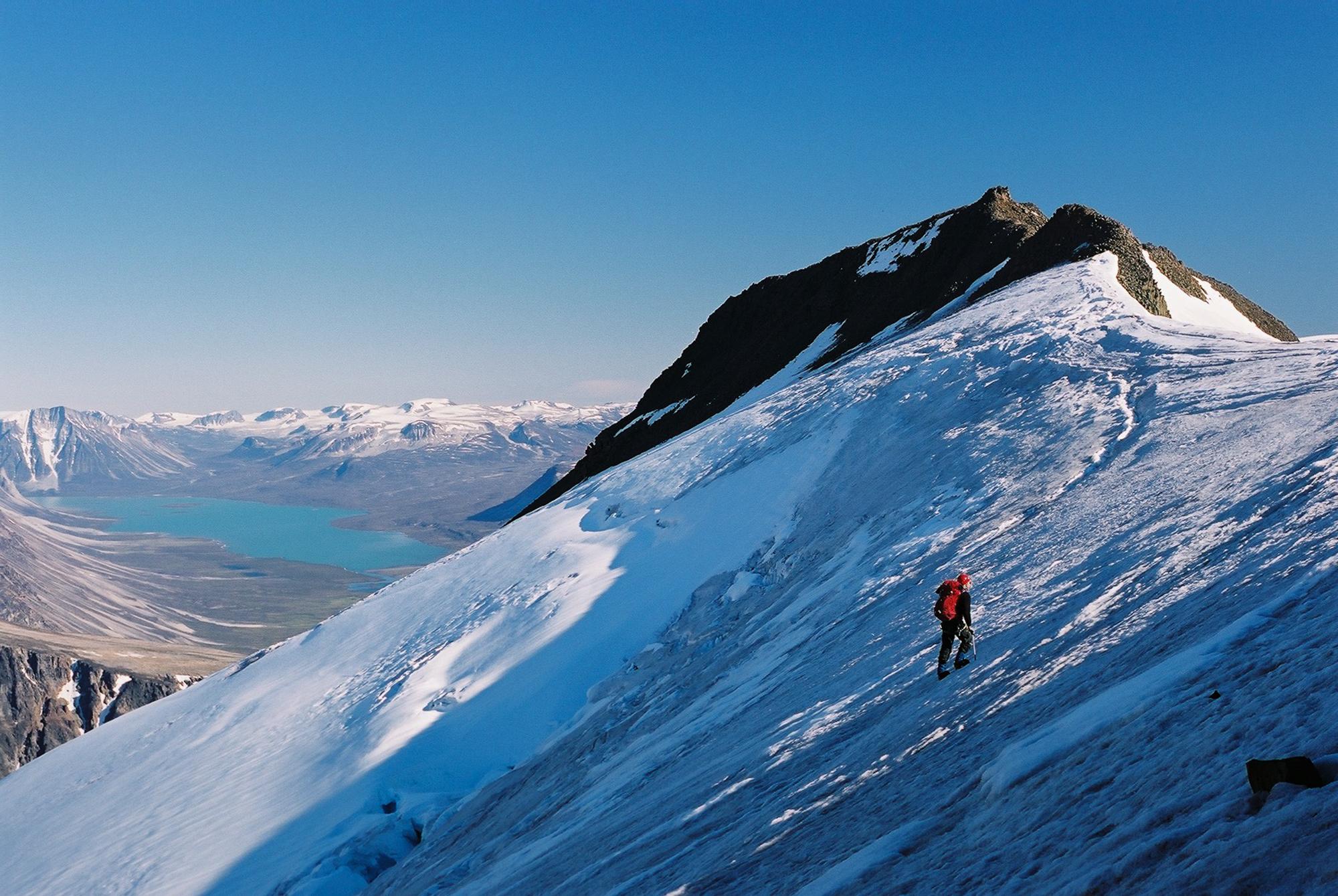 Greenland Glacier Travel