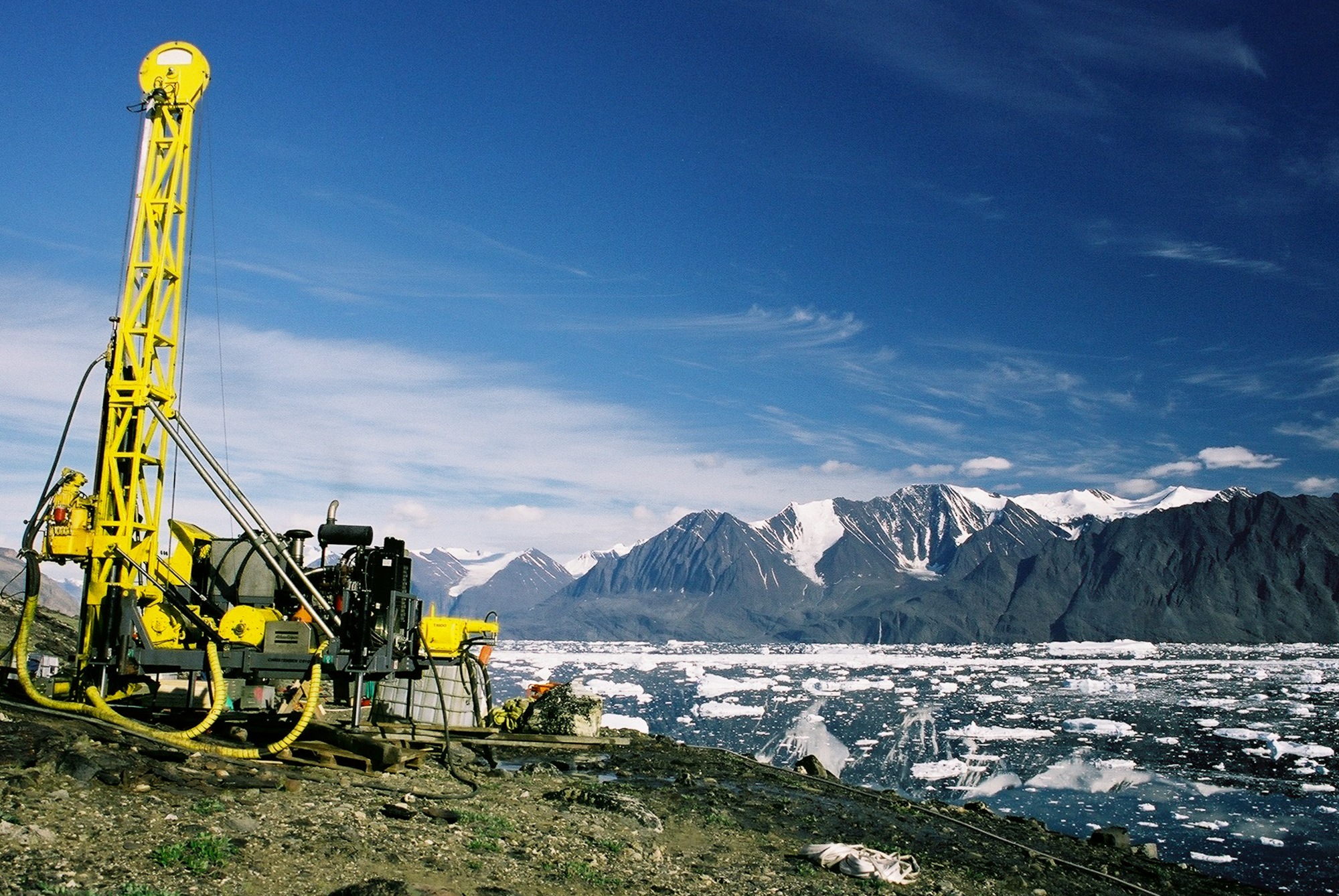 Rare Earth Drilling