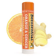 Orange Ginger Beeswax Lip Balm