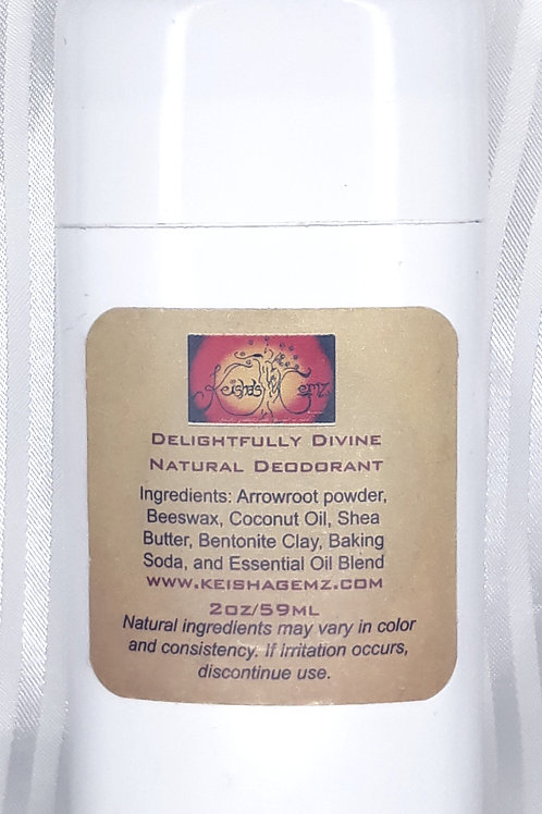 Delightfully Divine Natural Deodorant