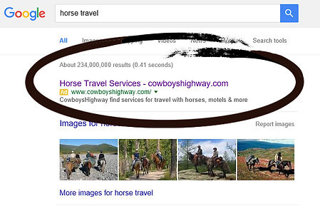 CowboysHighway gets seen on Google