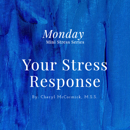 YOU ARE IN THE RIGHT PLACE! Stress Response