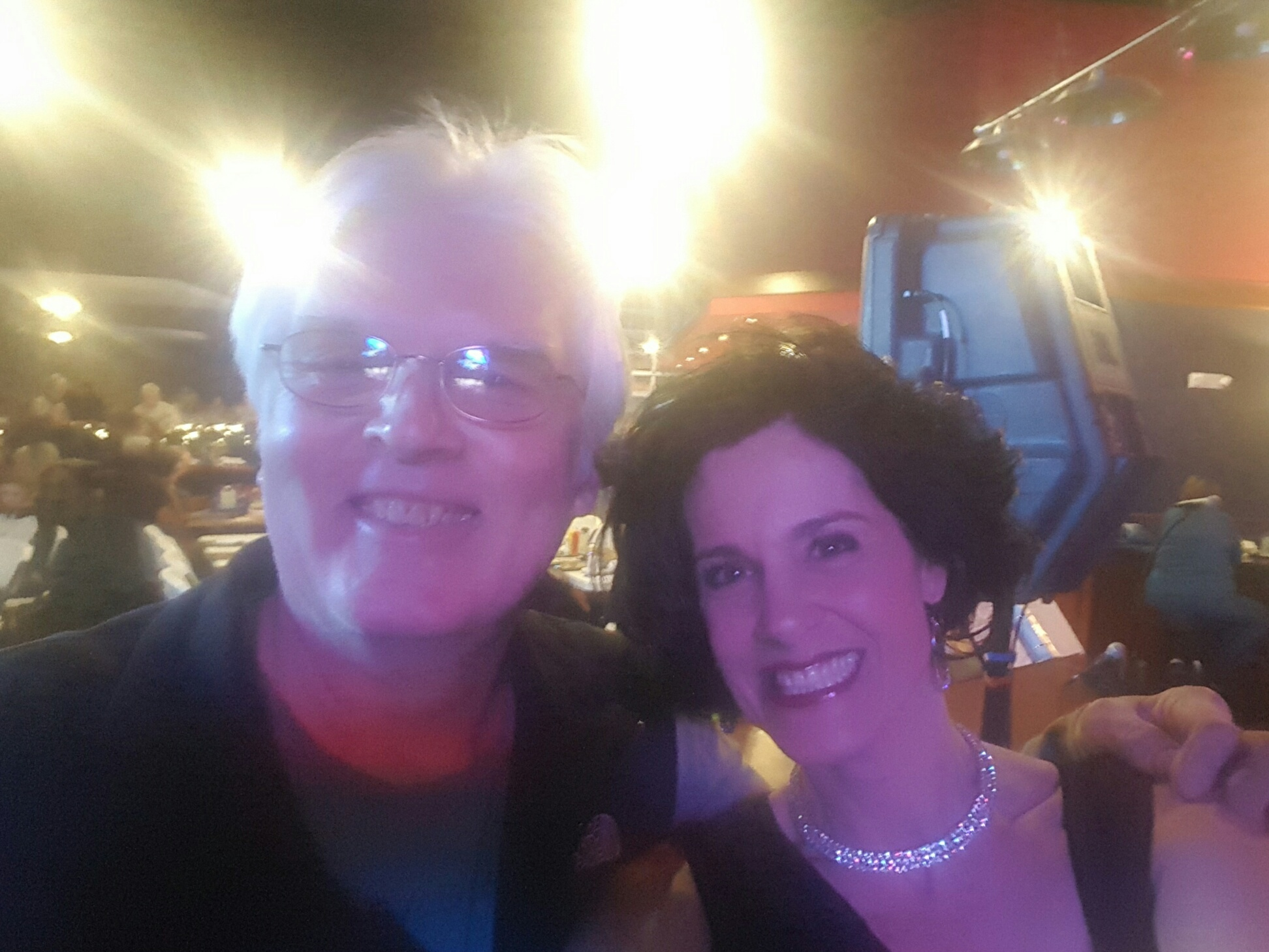 Marv Topp and Amy Manette