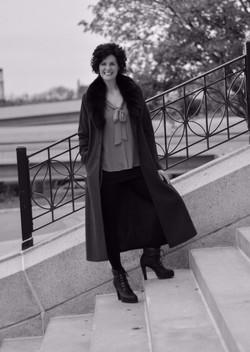 Amy Kuch Black Coat
