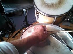 Marv Topp on drums