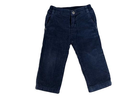 Pantalon Jacadi velours bleu 18 mois
