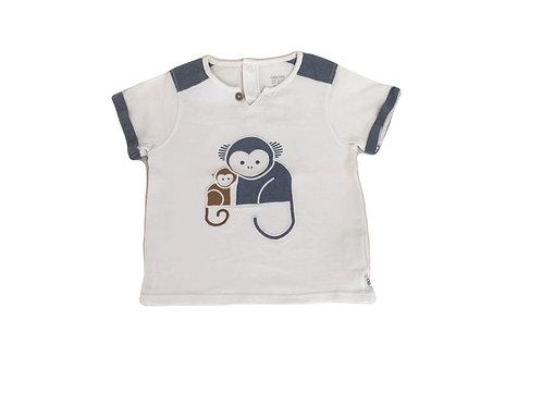 T-shirt Obaibi brodé 18 mois
