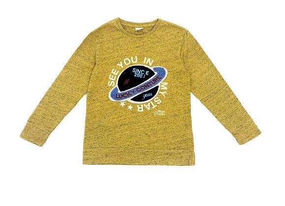 T-shirt Tape à l'oeil jaune 10 ans