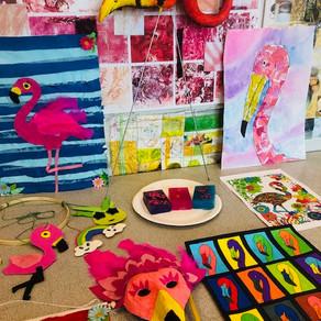 Fabulous Flamingos - Day 3