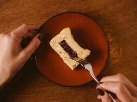 第一弾 和×洋「あんこチーズケーキ」本格販売スタート