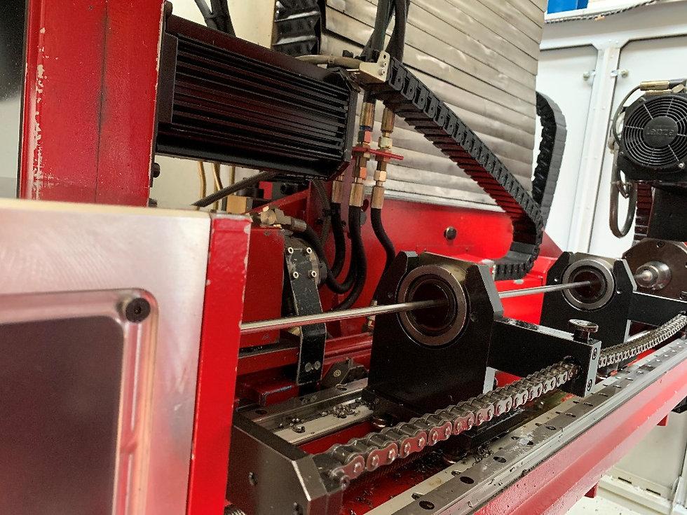 Tieflochbohrmaschine ELB Bohreinheit