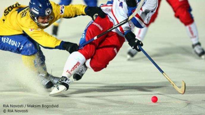 bandy russian sweden winter sports hockey