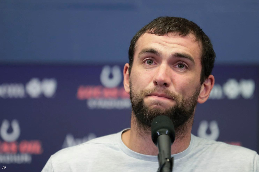 Andrew Luck Colts Football NFL Chicago Bears