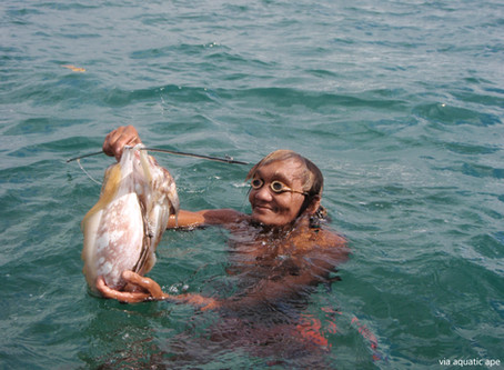 Diving Is In The Blood Of The Sama-Bajau. Literally.