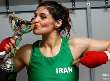 Sadaf Khadem: Iran's Unwanted Fighter