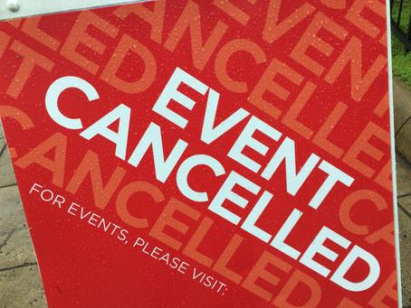 Course Cancellations due to Coronavirus