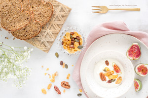 Les granolas de Jenny -                food styling & food photography