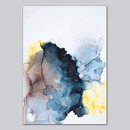 Dandelion Seeds - Plakat Print