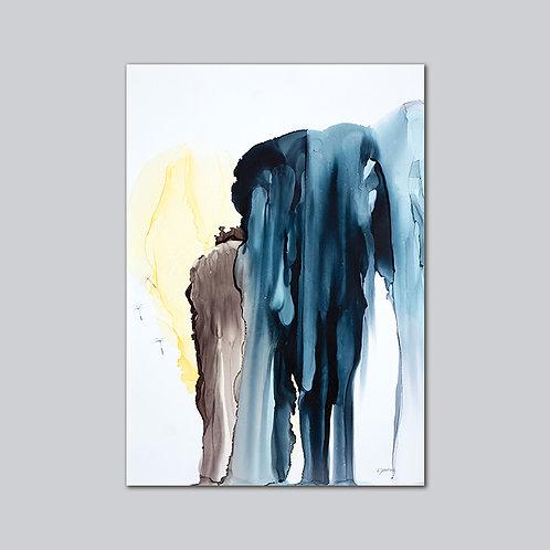Melting Ice - Plakat Print