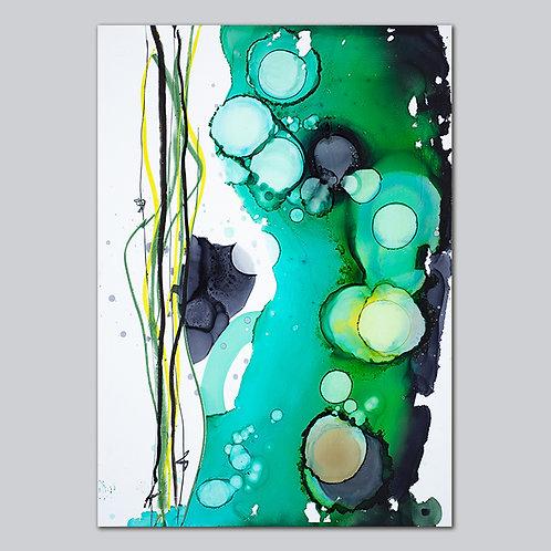 Seaweed - A3 Plakat Print