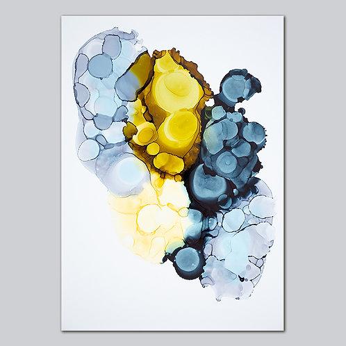 Energy Bubbles - Plakat Print
